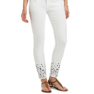 Vineyard Vines Star Embroidered Denim Jeans